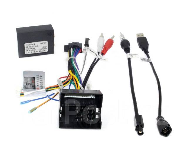 Комплект проводов для установки WM-MT в VW, Skoda 2003 + (основной 40 pin, антенна, USB, CAN)