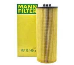 Фильтр масляный (элемент) Mann HU12140x MD419, E500HD37, WO339, S5006PE, D37E500H, OX168D, OE0065, EO2621, LF3829, CH5933, SFO2140E, TTDC221513, 50018...
