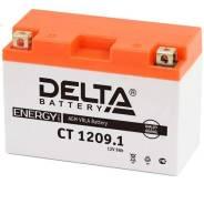 "Мото аккумулятор ""DELTA MOTO"" CT 1209.1 AGM YT9B-BS (9Ач п/п) Delta"