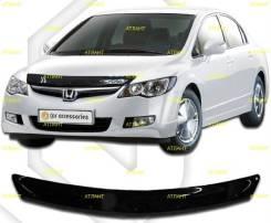 Дефлектор капота Honda Civic FD1