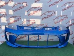 Бампер передний KIA RIO 17- 20 новый 86511H0000 цвет синий marina blue