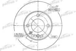 Диск Тормозной Передн Audi: 80 76-78, 80 79-86, 80 86-91, Coupe 81-88, Seat: Cordoba 93-99, Cordoba Vario 96-, Cordoba Хечбэк 99-02, Ibiza Ii 93-99, I...