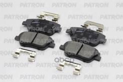 Колодки Тормозные Дисковые Передн Hyundai: Creta 2.0i 15-, Grandeur 2.4i (16) 11-, Sonata (Yf-Usa) 11- / Kia: Optima 11- Patron арт. PBP018 PBP018