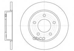 Диск Тормозной Mazda 3 03- Задн. Remsa арт. 690600