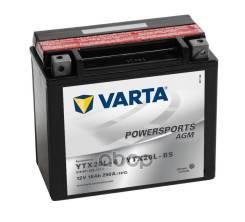 Аккумуляторная Батарея! Powersportsagm Евро 18ah 210a 177/88/156 Ytx20l-Bs Moto Varta арт. 518901026 518901026_