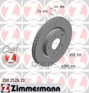 Диск Тормозной Nissan Juke/Tiida 10- Передн. Вент. Coat Z Zimmermann арт. 200252620