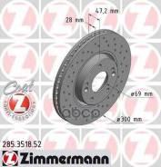 Диск Торм. Hyundai Ix35, I40, Nf V, Tucson 04- (Sport Z) Zimmermann арт. 285.3518.52 285351852
