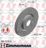 Диск Торм. Hyundai I40 11- (Sport Z) Zimmermann арт. 285.3519.52 285351952