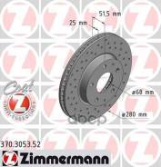Диск Тормозной Mazda 3 13- Передн. Вент. Sport Coat Z Zimmermann арт. 370305352