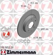 Диск Тормозной Mazda 6 12- Задн. Coat Z Zimmermann арт. 370305220