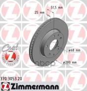 Диск Тормозной Mazda 3 13- Передн. Вент. Coat Z Zimmermann арт. 370305320