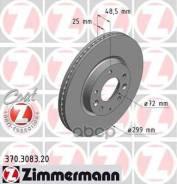 Диск Тормозной Mazda 6 07- Перед. Вент. Coat Z Zimmermann арт. 370308320