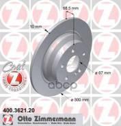 Диск Тормозной Mb W211 -07 Задн. Coat Z Zimmermann арт. 400362120 400362120