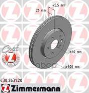 Диск Тормозной Opel Mokka 12- Перед. Вент. Coat Z Zimmermann арт. 430263120 430263120
