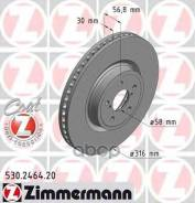 Диск Тормозной Subaru Forester 13- Перед. Вент. Coat Z Zimmermann арт. 530246420 530246420