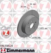 Диск Тормозной Toyota Avensis 03- Задн. Coat Z Zimmermann арт. 590258520