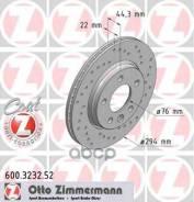 Тормозной Диск Тормозная Система|Тормозный Диск Zimmermann арт. 600.3232.52