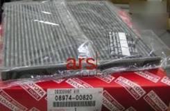Фильтр Салона! Угольный Toyota Avensis/Corolla 1.8-2.0d 02 Toyota арт. 0897400820