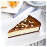 Торт Сырный карамель, 12шт по 114г, замороженный, Prestige, 1370г