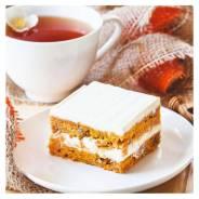 Торт Морковный, 15 порций, замороженный, Prestige (Престиж), 1,5кг