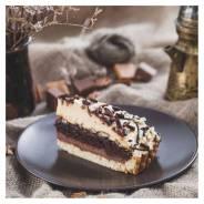 Торт Карамельно-Шоколадный, 12 порций, замороженный, Prestige (Престиж), 1,26кг