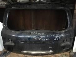 Крышка багажника для Infiniti QX80 QX56 Z62 Инфинити КУХ56 Куикс56 Задний K010M1LLMA 2010 - 2017 (контрактная запчасть)