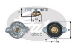 Крышка, радиатор Gates RC124 RC124