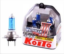 Лампа Высокотемпературная Koito Whitebeam H7 12v 55w (100w) 4200k (Комплект 2 Шт. ) H7 12v 55w (100w) 4200k, Упаковка 2 Шт. Koito арт. P0755W