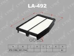Фильтр Возд. Hyundai/Kia Sonata Vi/Optima 2.0 2009 = LYNXauto арт. LA-492