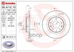 Диск Тормозной Задний Brembo арт. 08. A112.11 08A11211
