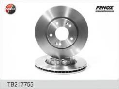 Диск Тормозной Hyundai Tucson, Kia Magentis, Sportage 96- 280*26*7; Передний Fenox арт. TB217755 Tb217755 Fenox TB217755