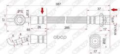 Шланг Тормозной (1014) Auto Parts (Это Не Sat! ) Sat арт. ST-90947-02A30 90947-02460 ST9094702A30