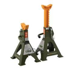 Подставки Страховочные С Зубчатым Механизмом 2 Тонны 268-418 Мм 2 Шт Дело Техники арт. 900302