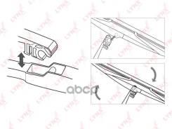 Щетка Стеклоочистителя Заднего Solaris 5dr / Soul / Rio Iii Lynx 280мм/11'' 6,4мм LYNXauto арт. LR28E