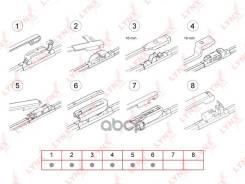 Щетка Стеклоочистителя Бескаркасная 350 Мм LYNXauto арт. XF350 XF350