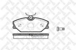 Колодки Дисковые П.! С Антискр. Пл Renault Laguna 1.9dci/Megane 1.8i/1.9dci 99-02 Stellox арт. 219 000B-SX 219 000b-Sx_, левый передний