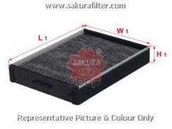 Фильтр Салона Угольный Sakura арт. CAC2802 CAC2802