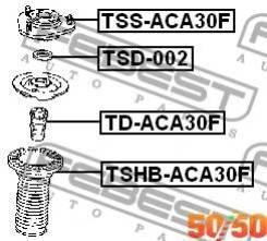 Опора переднего Амортизатора Tssaca30F Febest TSSACA30F