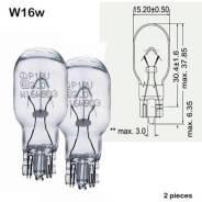 Лампа б/цок. 12V-16/18W, Средняя, шт