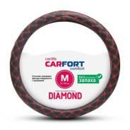 Оплетка Diamond, красная прошивка, М CARFORT [CS2152]