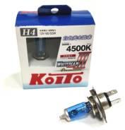 Лампа высокотемпературная Whitebeam Premium H4 12V 60/55W 4500K комплект 2 шт. Koito [P0744W] P0744W