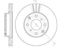 Диск тормозной G-brake GR02196 GR02196