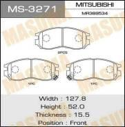 Колодки дисковые Masuma MS3271 MS3271