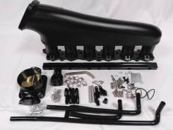 Впускной коллектор фрезерованный - Nissan Skyline RB25DET в сборе - Черный