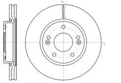 Диск тормозной G-brake GR20659 GR20659