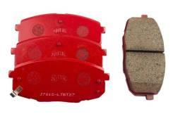 Колодки тормозные дисковые спорт NiBK PN0373S PN0373S