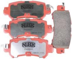 Колодки тормозные дисковые спорт NiBK PN25001S PN25001S