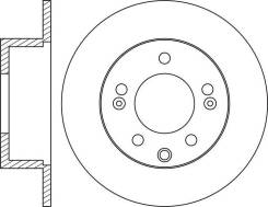Диск тормозной задний NiBK RN1786 RN1786