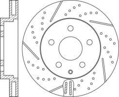 Диск тормозной передний перфорированный комплект NiBK RN1564DSET RN1564DSET
