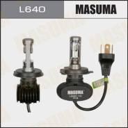 Лампы светодиодные LED H4 6000K 4000Lm P43T, Комплект 2шт Masuma L640 L640